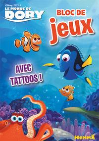 LE MONDE DE DORY BLOC DE JEUX AVEC TATTOOS !