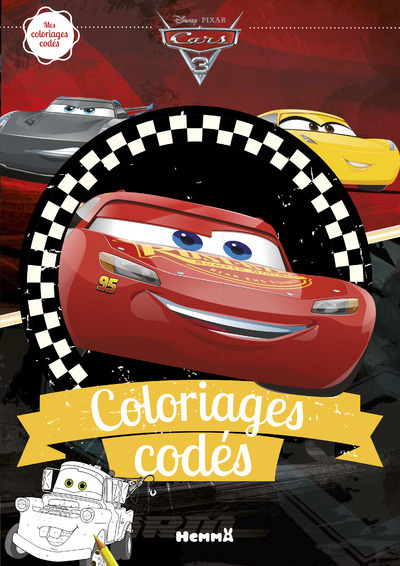 CARS 3 COLORIAGES CODES