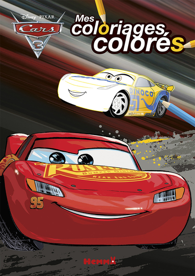 CARS 3 MES COLORIAGES COLORES