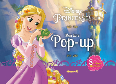 DISNEY PRINCESSES MON LIVRE POP-UP