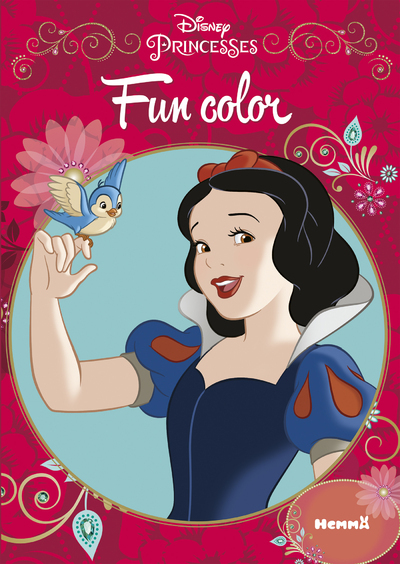 DISNEY PRINCESSES FUN COLOR
