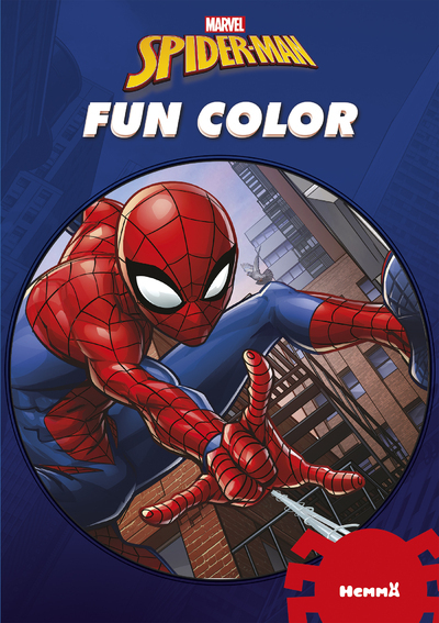MARVEL SPIDER-MAN FUN COLOR