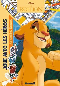 DISNEY LE ROI LION JOUE AVEC LES HEROS