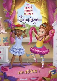DISNEY FANCY NANCY CLANCY COLORIAGE AVEC STICKERS !