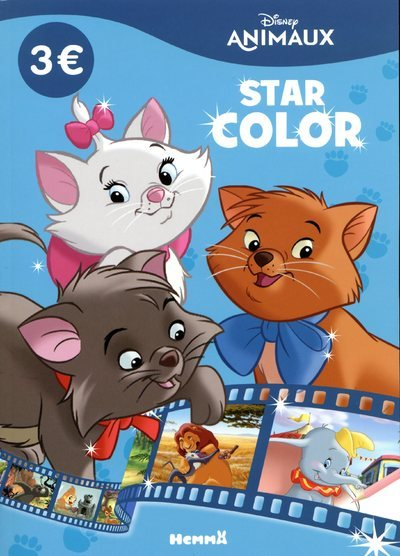 DISNEY ANIMAUX - STAR COLOR (LES ARISTOCHATS)