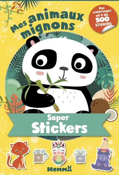 SUPER STICKERS ! - MES ANIMAUX MIGNONS (PANDA)