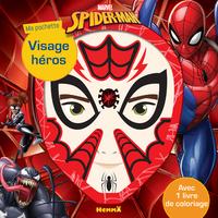 MARVEL SPIDER-MAN MA POCHETTE VISAGE HEROS
