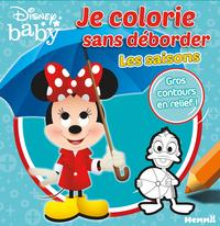 DISNEY BABY JE COLORIE SANS DEBORDER - LES SAISONS