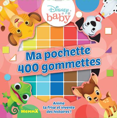 DISNEY BABY MA POCHETTE 400 GOMMETTES (LES ANIMAUX)