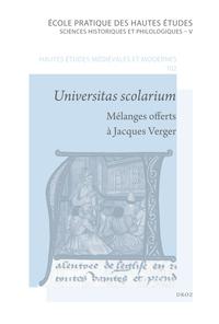 UNIVERSITAS SCOLARIUM.