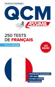 QCM 250 TESTS FRANCAIS
