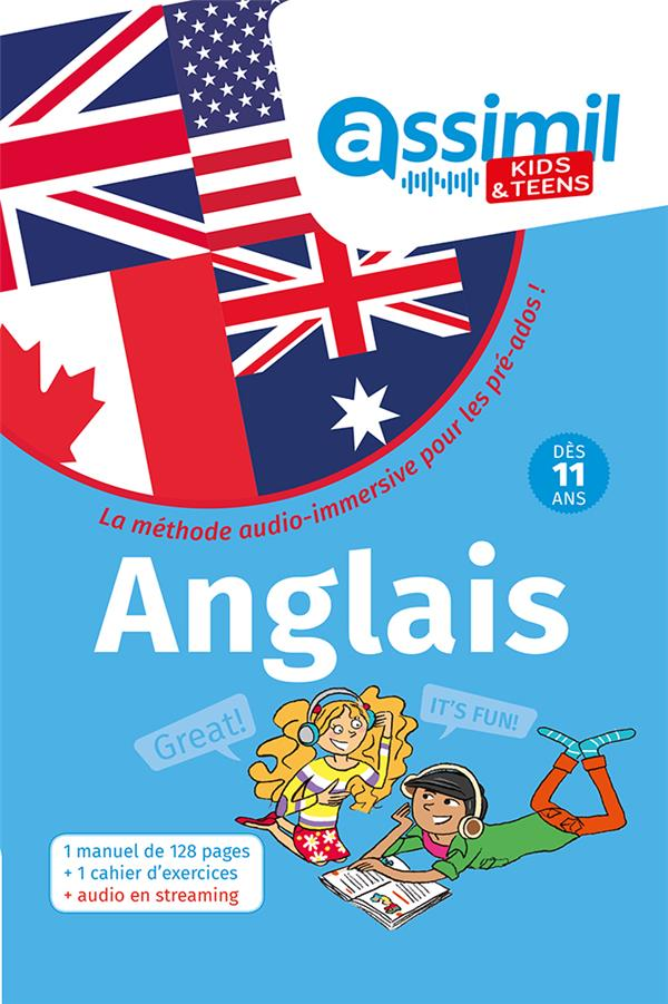 Methode anglais kids 11+