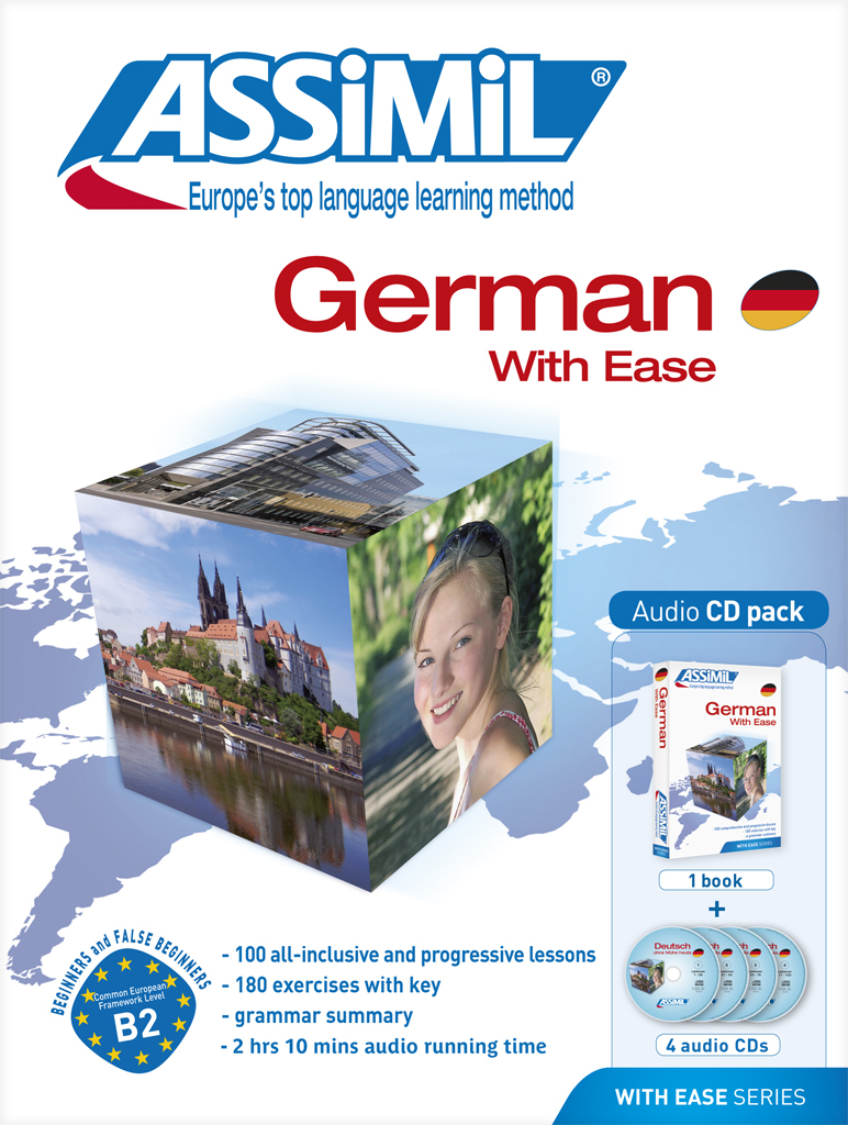 PACK CD GERMAN WITH EASE