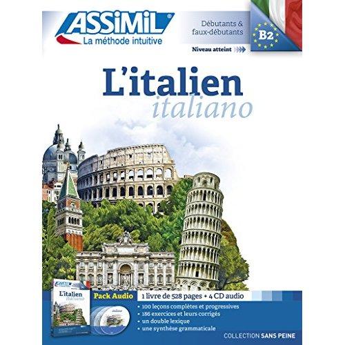 Pack cd italien 2015