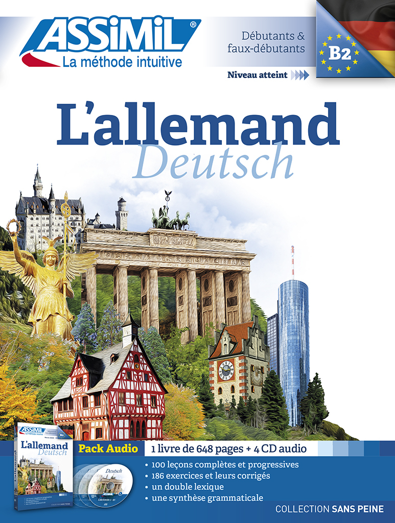 PACK CD ALLEMAND 2015
