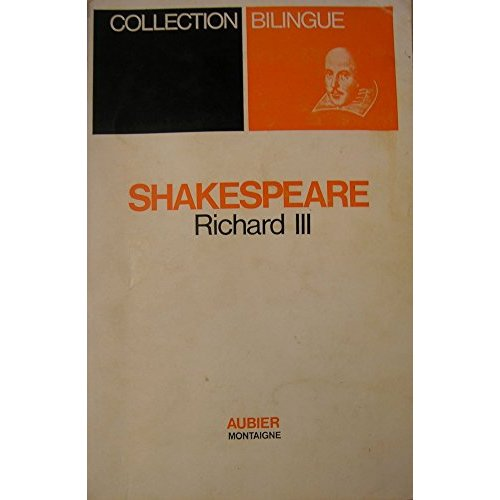 RICHARD III (BILINGUE)