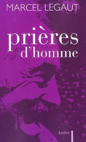 PRIERES D'HOMME
