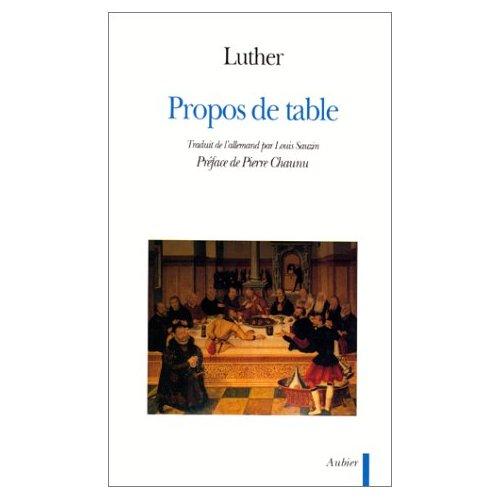 PROPOS DE TABLE - - PREFACE - TRADUIT DE L'ALLEMAND