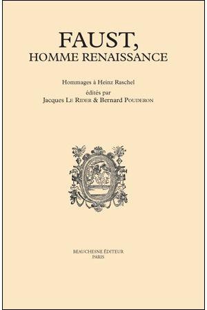 FAUST, HOMME RENAISSANCE