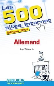 LES 500 SITES INTERNET - ALLEMAND
