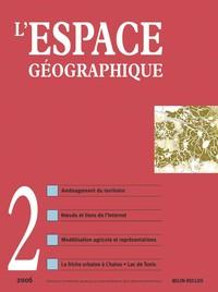ESPACE GEOGRAPHIQUE N2/2006
