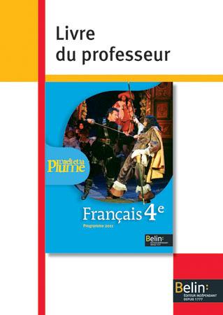 L'OEIL ET LA PLUME 4E - <SPAN>LIVRE DU PROFESSEUR</SPAN>
