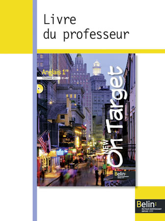 NEW ON TARGET ANGLAIS 1RE 2011 PROF