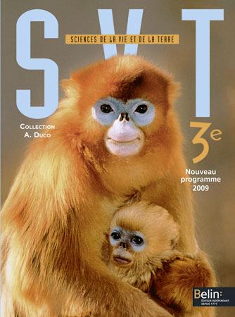 SVT 3E - <SPAN>MANUEL ELEVE (PETIT FORMAT)</SPAN>