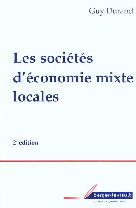 SOCIETES D'ECONOMIE MIXTE LOCALES 2EME EDITION