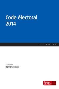 CODE ELECTORAL 2014