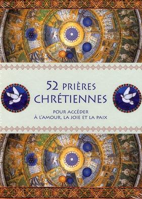 COFFRET 52 PRIERES CHRETIENNES