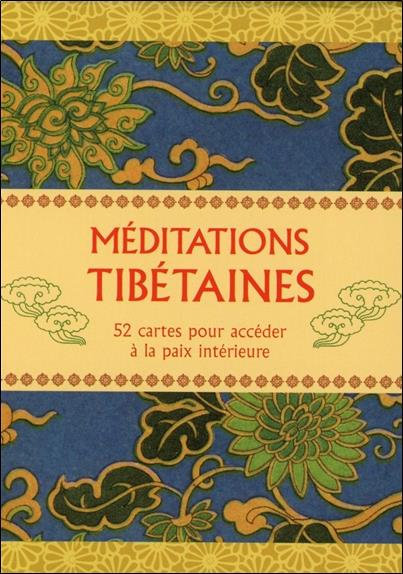 CARTES DE MEDITATIONS TIBETAINES