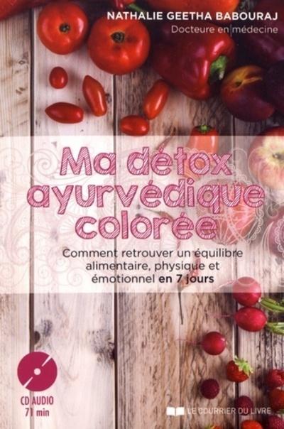 MA DETOX AYURVEDIQUE COLOREE (CD)