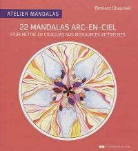 22 MANDALAS ARC-EN-CIEL