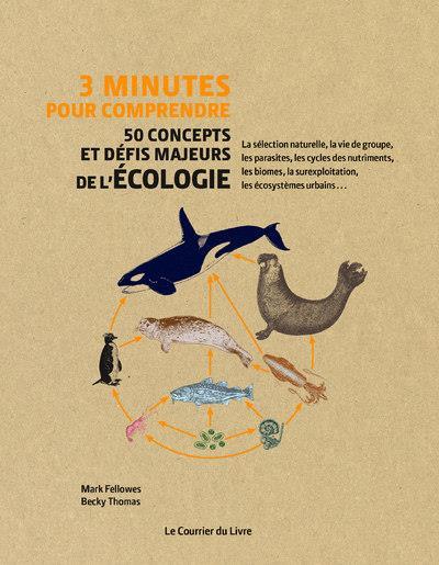 3 MINUTES POUR COMPRENDRE 50 CONCEPTS ET DEFIS MAJEURS DE L'ECOLOGIE