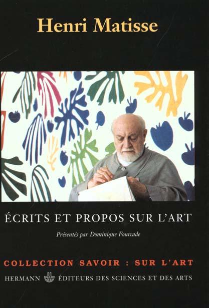 ECRITS & PROPOS SUR L'ART