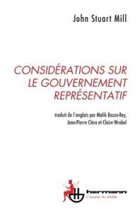 CONSIDERATIONS SUR LE GOUVERNEMENT REPRESENTATIF