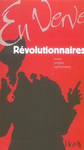 REVOLUTIONNAIRES EN VERVE