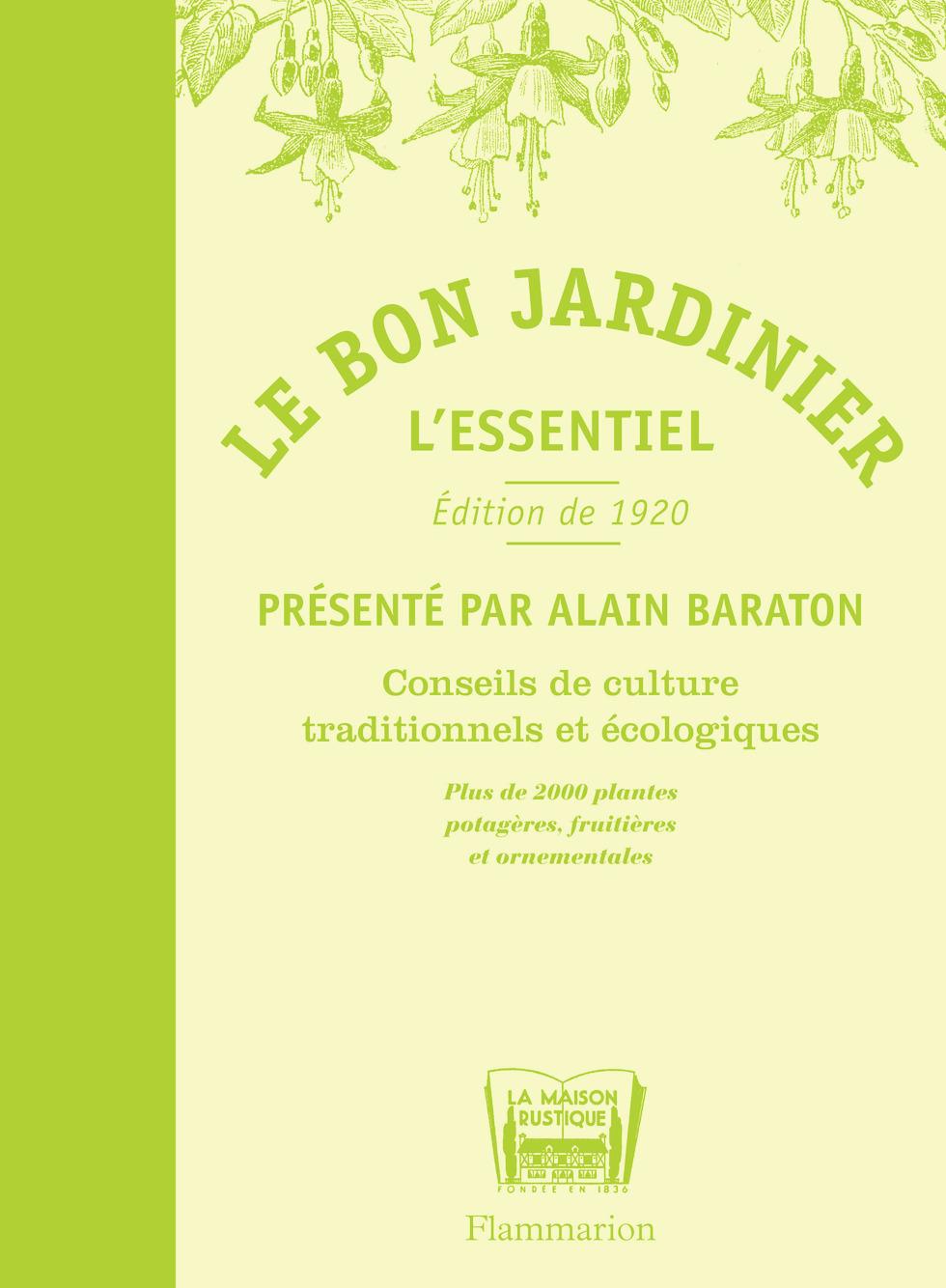 LE BON JARDINIER - L'ESSENTIEL