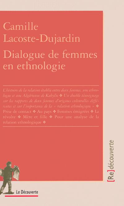 DIALOGUE DE FEMMES EN ETHNOLOGIE