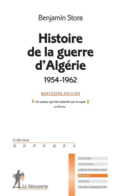 Histoire de la guerre d'algerie (1954-1962)