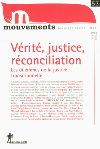 N53 MOUVEMENTS  VERITE JUSTICE RECONCILIATION