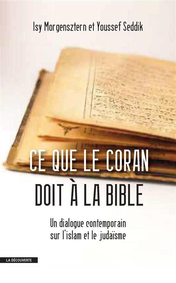 CE QUE LE CORAN DOIT A LA BIBLE