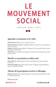LE MOUVEMENT SOCIAL NUMERO 250 VARIA