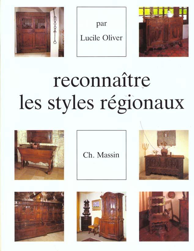 RECONNAITRE LES STYLES REGIONAUX
