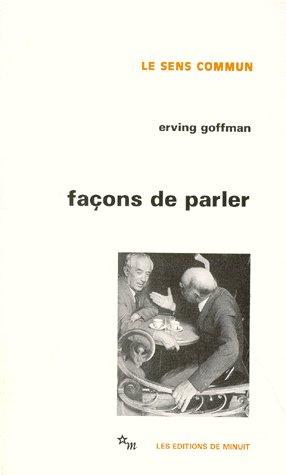 FACONS DE PARLER
