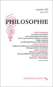 PHILOSOPHIE 120