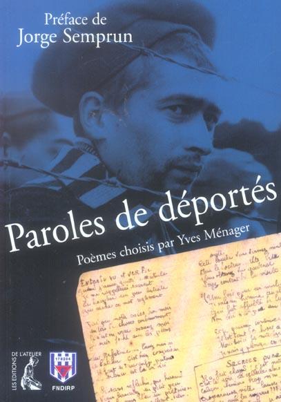 PAROLES DE DEPORTES NLLE EDITION