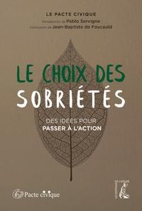 LE CHOIX DES SOBRIETES