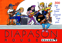 DIAPASON ROUGE VOLUME 4 CARNET DE CHANTS DE VARIETES